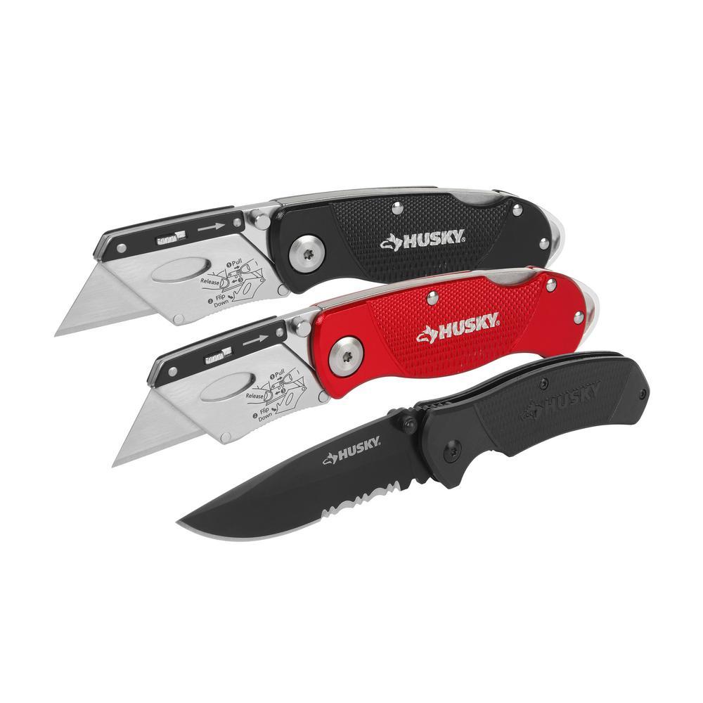 carpet knife home depot. knife set (3-pack) carpet home depot