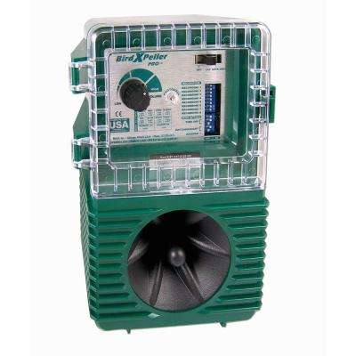 Bird Xpeller Pro Electronic Bird Repeller Bird Control Model 1 for Pigeons, Starlings, Sparrows and Gulls