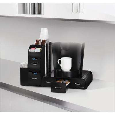 Combine 2-Piece Coffee Pod Station in Black
