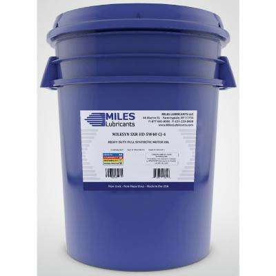 Milesyn SXR HD 5W-40 CJ-4 5 Gal. Full Synthetic Heavy-Duty Diesel Engine Oil Pail
