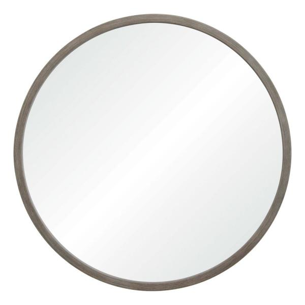 Renwil Birman 34 in. x 34 in. Framed Wall Mirror