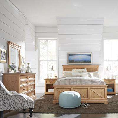 Country Lodge 5-Piece Pine Queen Bedroom Set