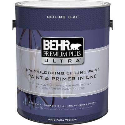 1 gal. Ultra Pure White Ceiling Interior Paint and Primer in One
