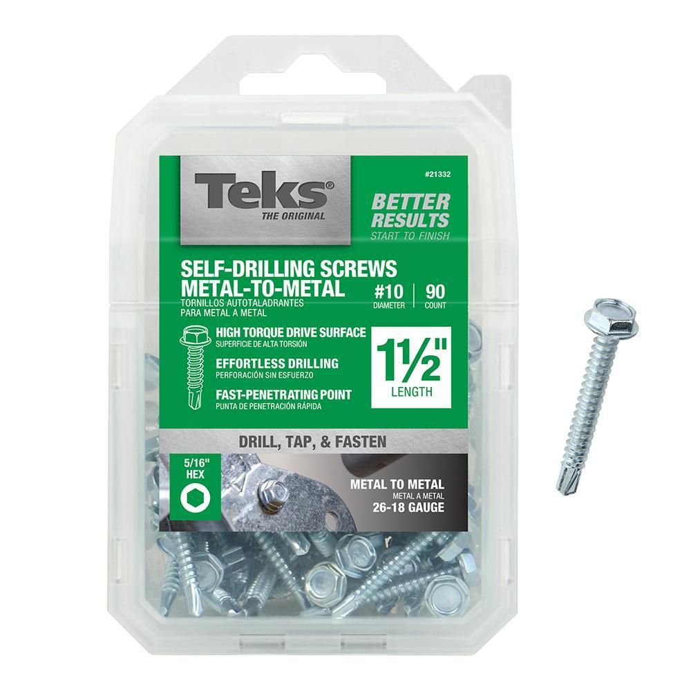 "1//4-20 X 1-1//2/"" Thread Cutting Flat Head Trailer Deck Screw T30 Torx Qty.100"
