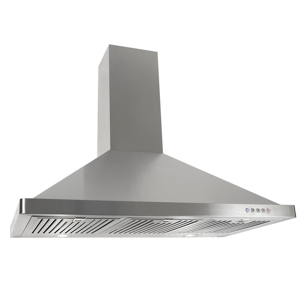 how to clean ducted range hood