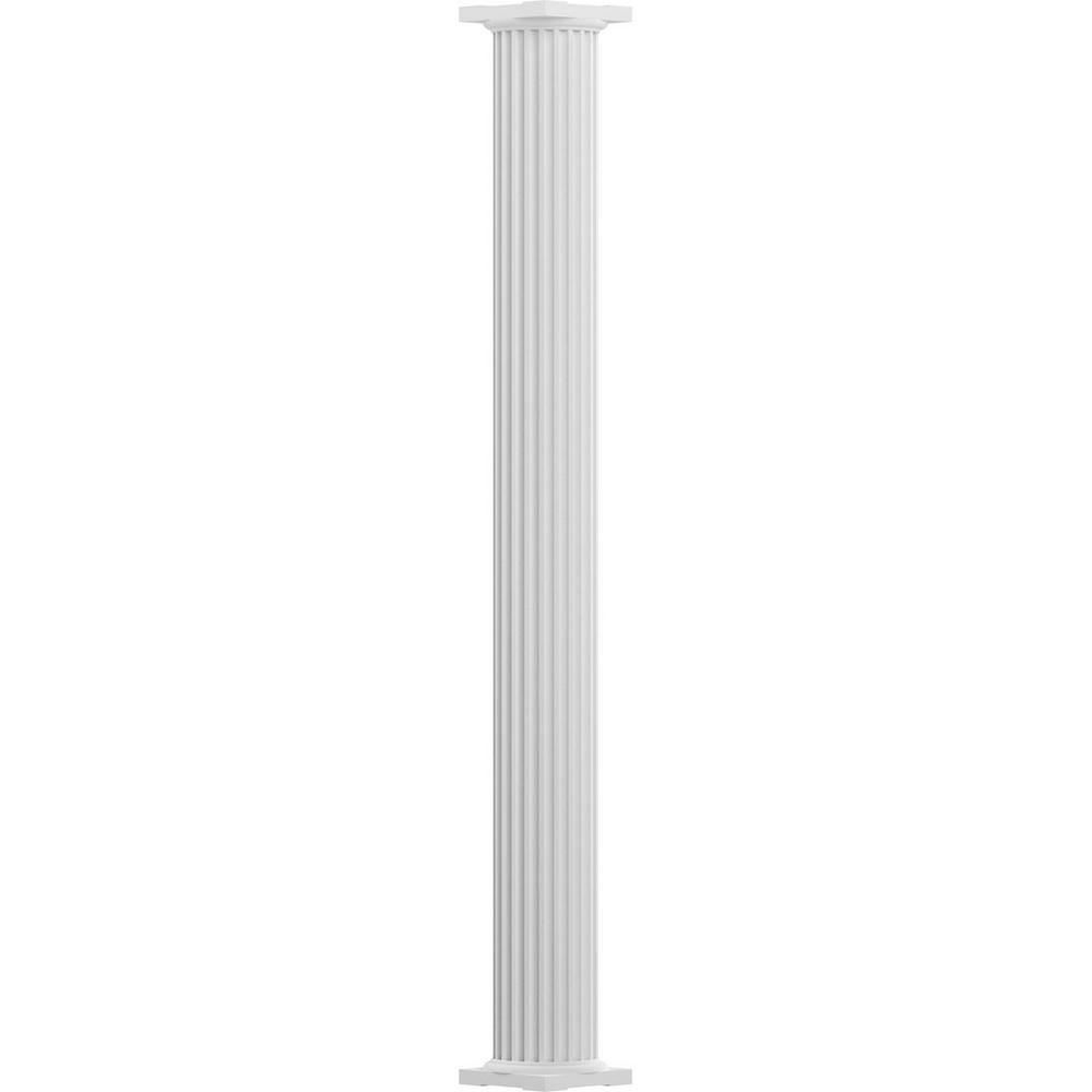 Decorative Columns Home Depot: Brown 42 In. Outdoor Decorative Column-FSCB42