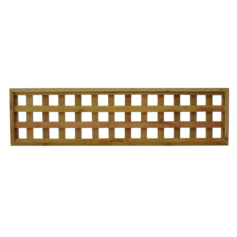 Wood Fence Panels - Wood Fencing - The Home Depot