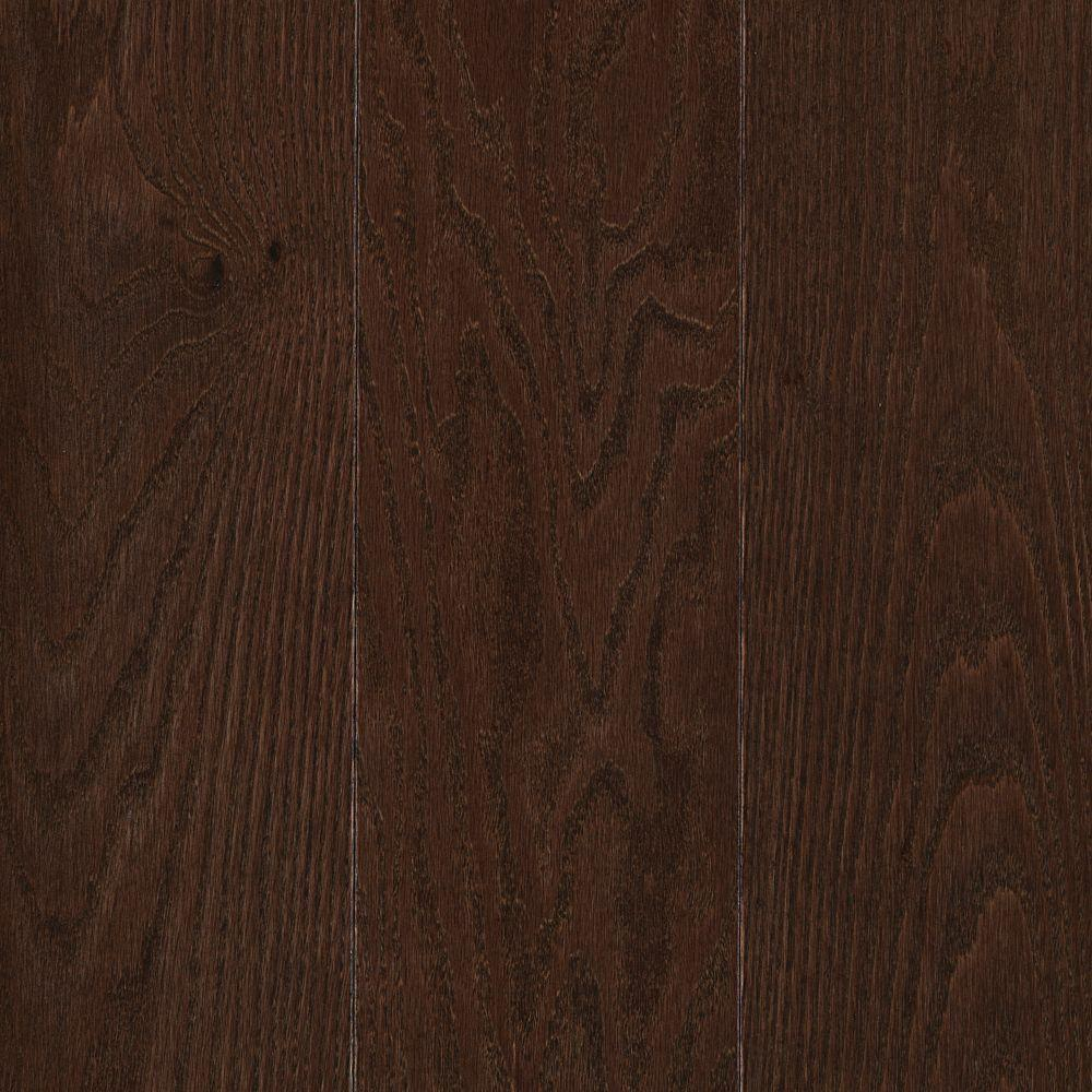 Raymore Oak Chocolate 3 4 In Thick X 5 Wide Random Length Solid Hardwood Flooring 19 Sq Ft Case