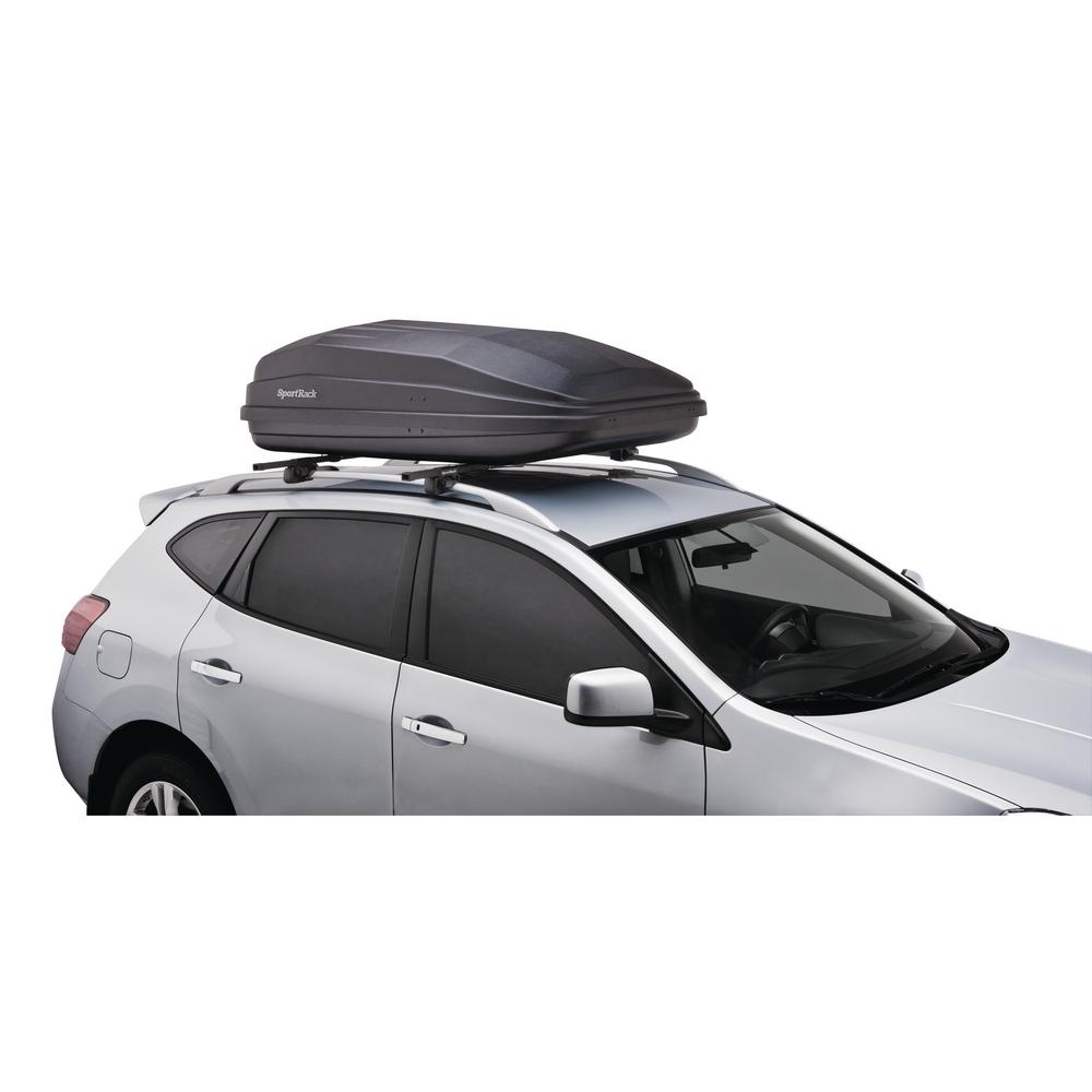 Sportrack 18 Cu Ft Vista Rear Opening Rooftop Cargo Box Sr7018 The Home Depot