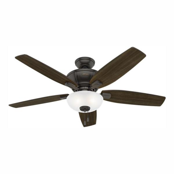 Kenbridge 52 in. LED Indoor Noble Bronze Ceiling Fan