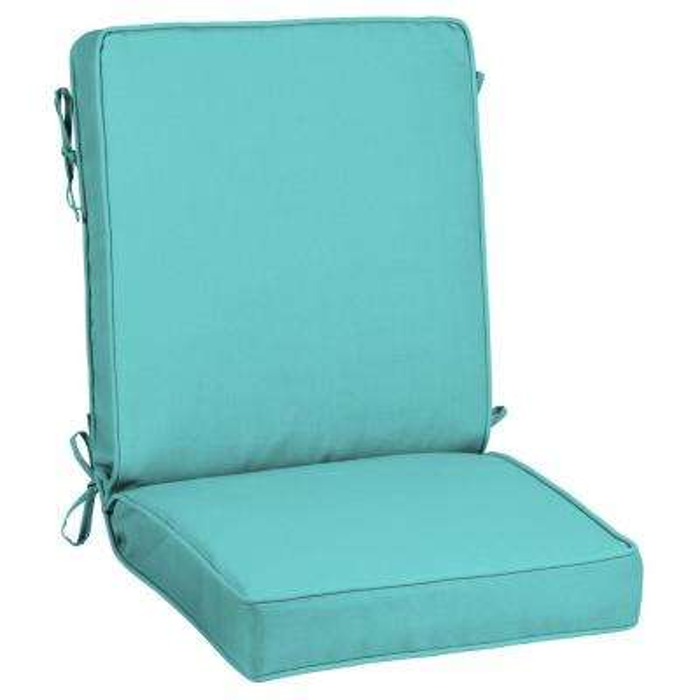 Sunbrella Canvas Aruba Outdoor Dining Chair Cushion