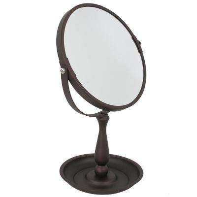 5.3 in. x 11.75 in. Cosmetic Mirror with Integrated Tray