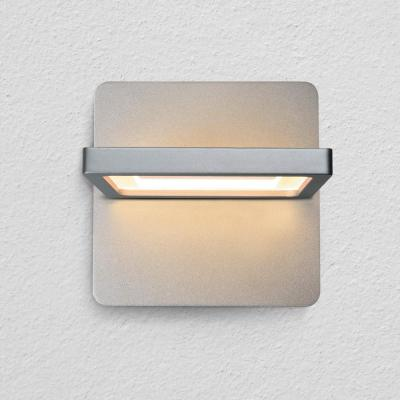 Atria 10-Watt Silver Integrated LED Sconce