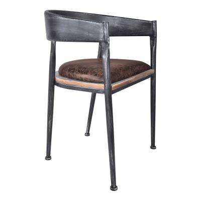 Macey Industrial Grey Dining Chair (Set of 2)