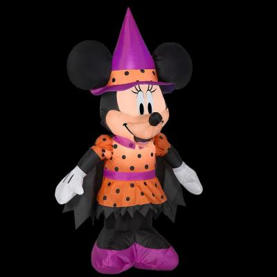 48 in. Inflatable Halloween Minnie Mouse