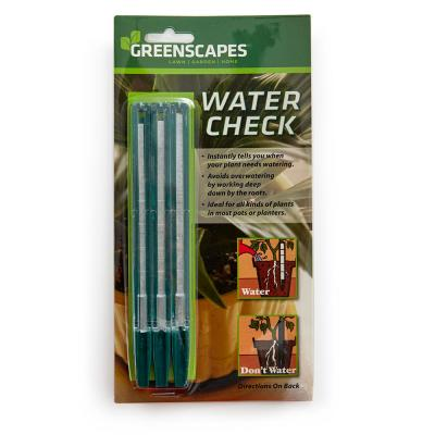 Water Check Soil Tester, Monitors Moisture in Plants