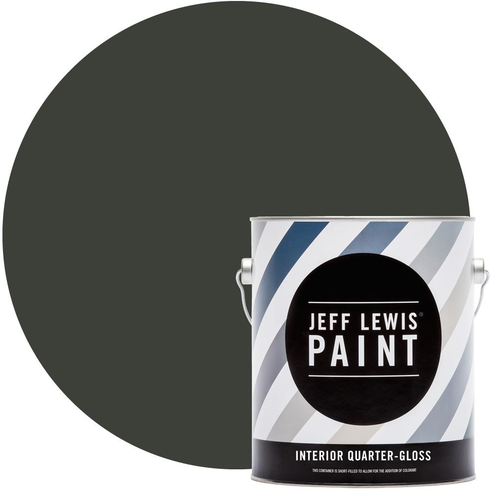 Jeff Lewis 1 gal. #113 Mud Quarter-Gloss Interior Paint