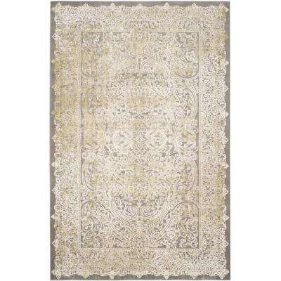 Passion Gray/Green 9 ft. x 12 ft. Area Rug