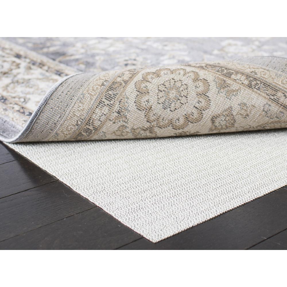 Flat White 6 ft. x 9 ft. Non-Slip Rug Pad