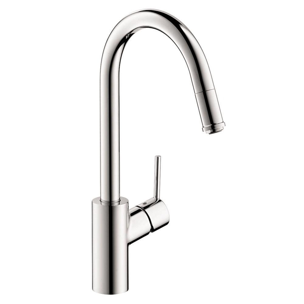 Hansgrohe Talis S Single-Handle Standard Kitchen Faucet in Chrome