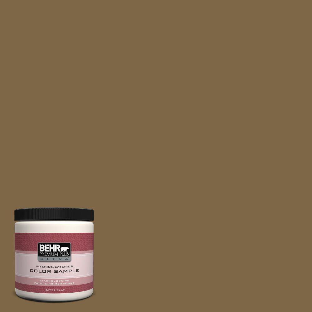 BEHR Premium Plus Ultra 8 oz. #320F-7 Fig Interior/Exterior Paint Sample