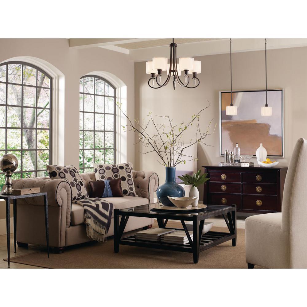 Invite Collection 5-Light Antique Bronze Chandelier