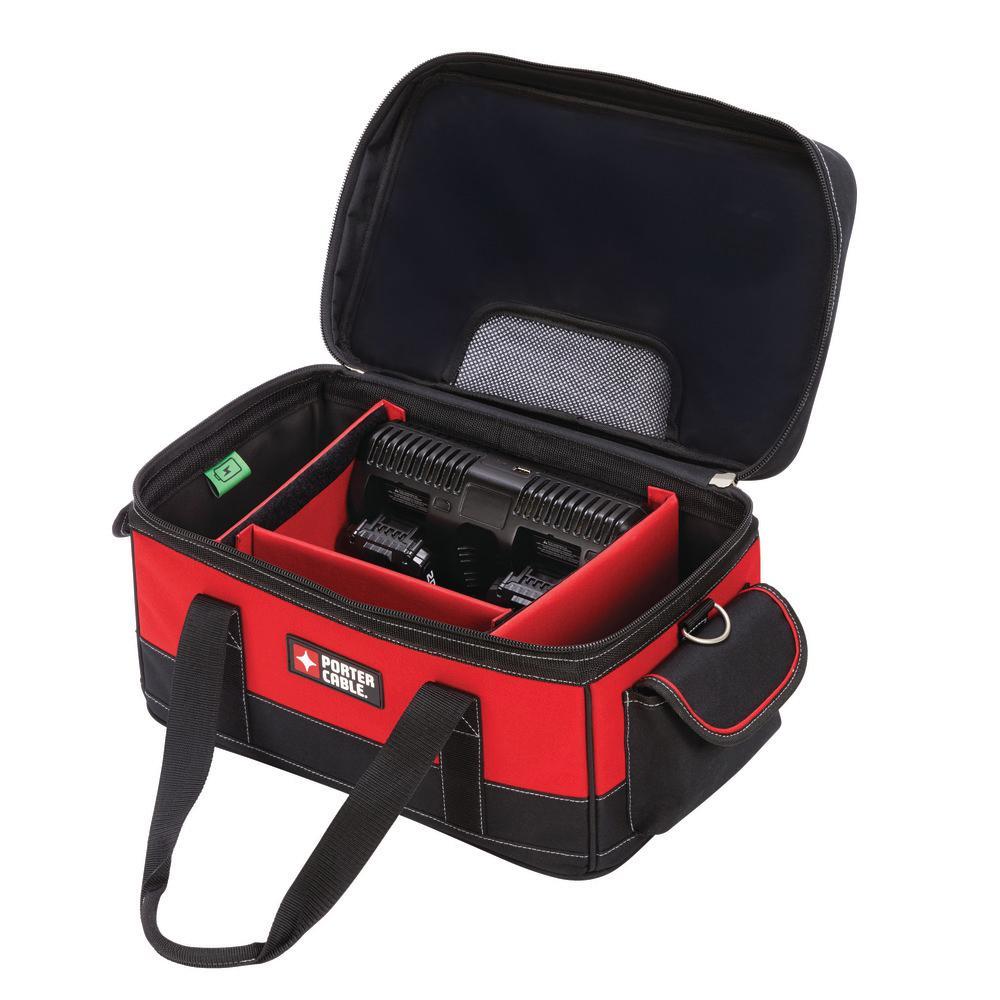 20-Volt Max Dual Port Charger Bag
