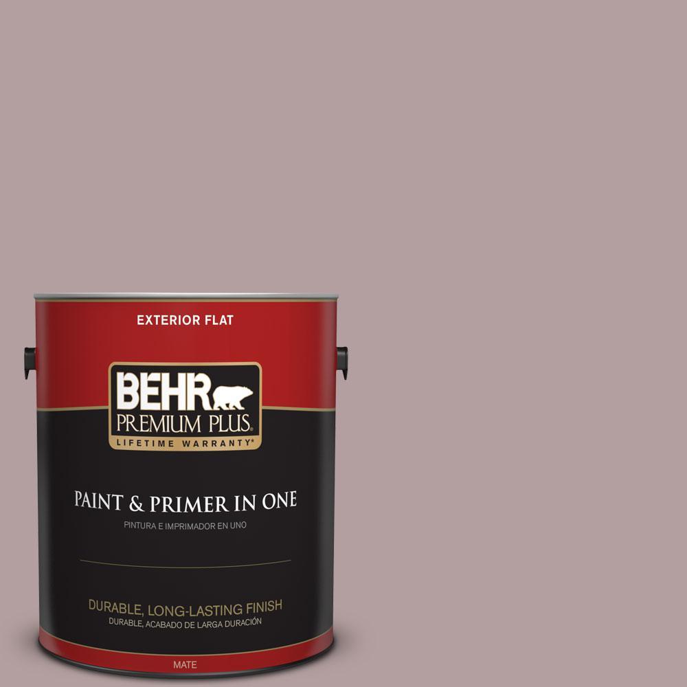 BEHR Premium Plus Home Decorators Collection 1-gal. #HDC-CT-18 Violet Vista Flat Exterior Paint