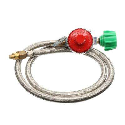 High-Pressure Hose with 10 PSI Regulator