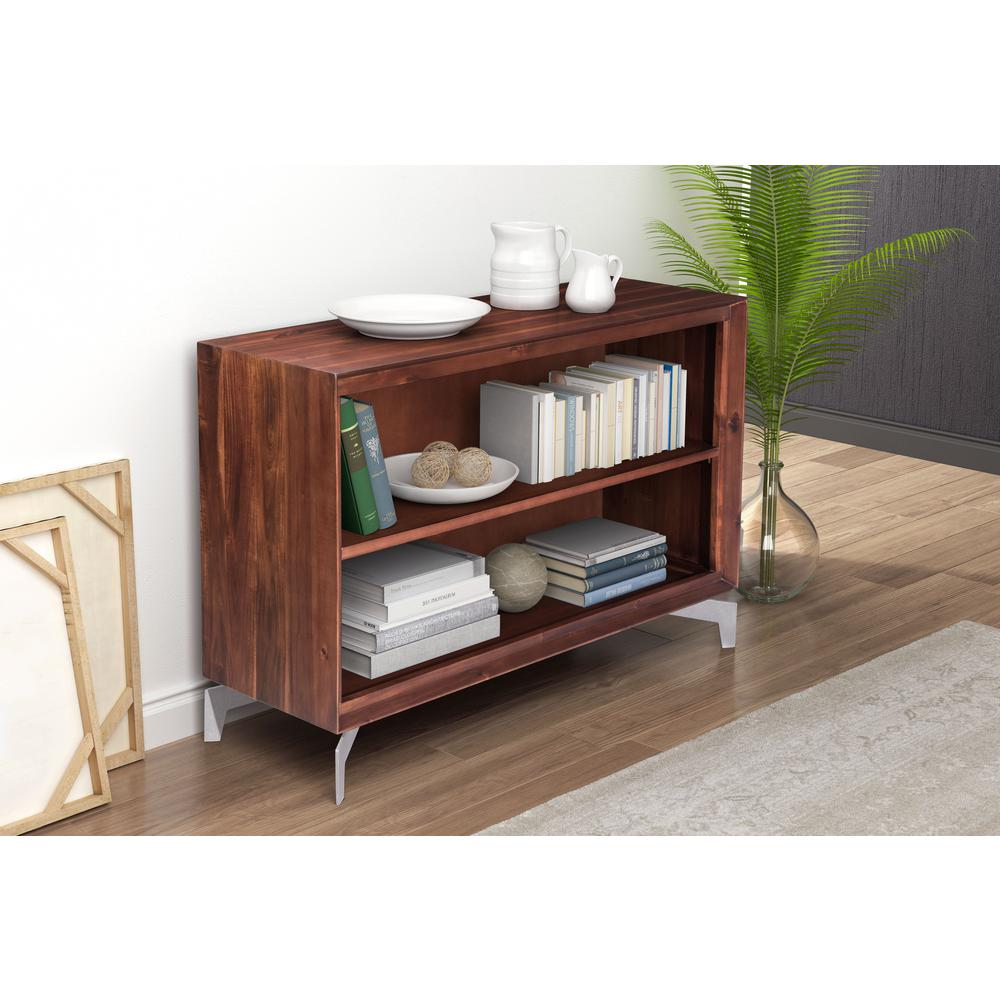 ZUO Perth Chestnut Console Table100591 The Home Depot