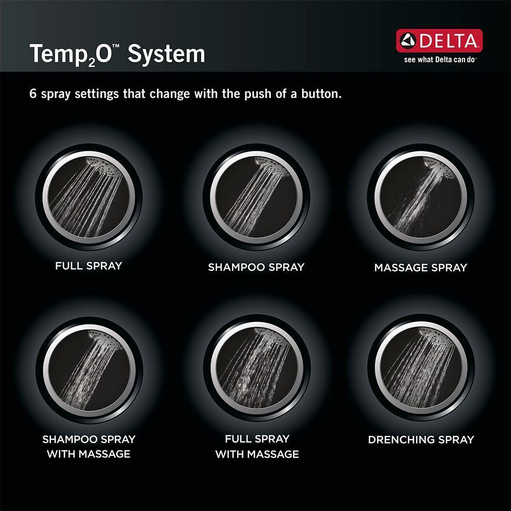 Delta Faucet 75628 Temp2O Hand Shower Chrome