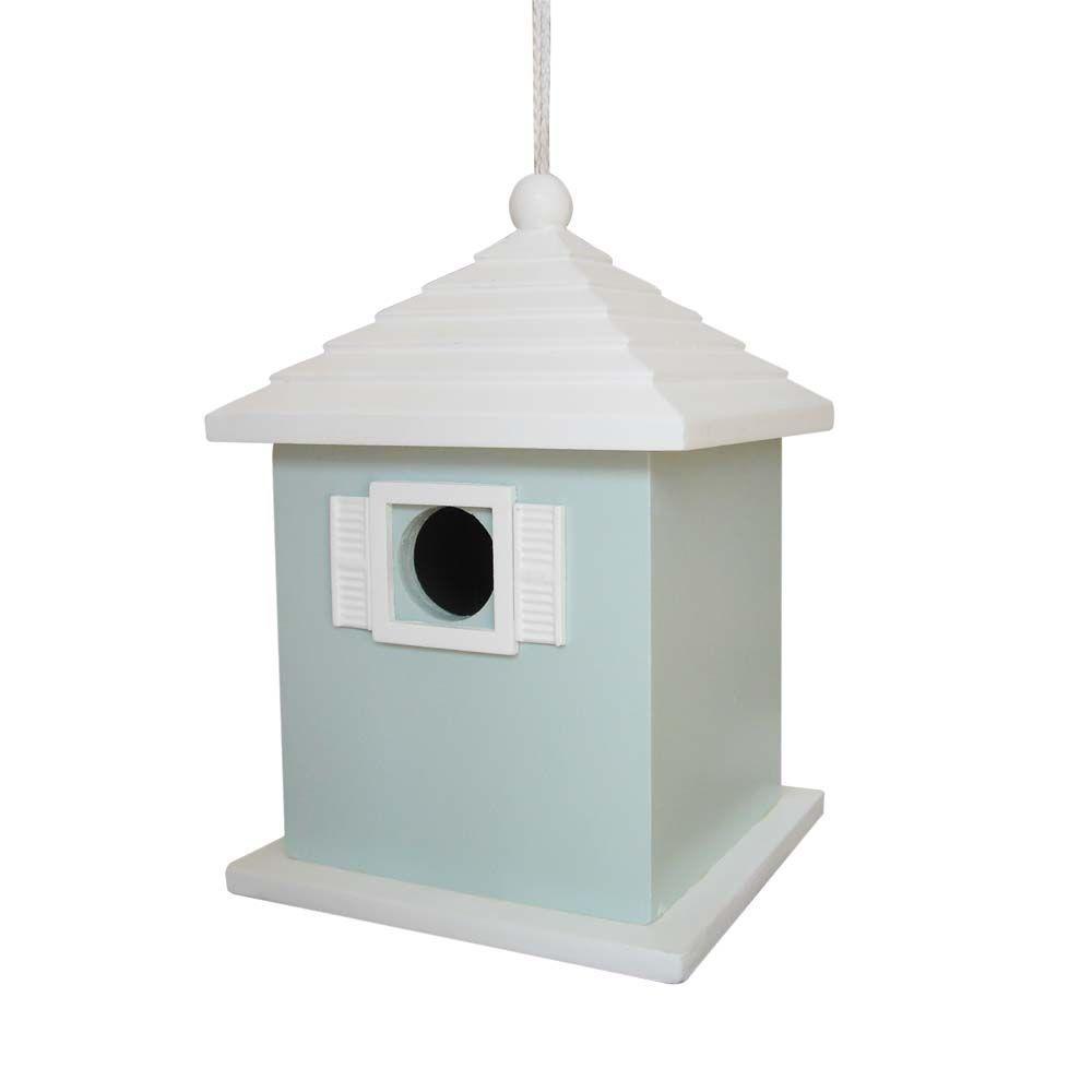 Home Bazaar Bermuda Birdhouse (Light Blue)-DISCONTINUED