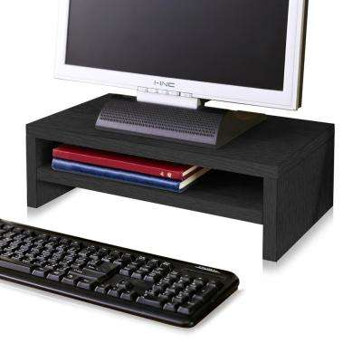 zBoard Eco 2-Shelf Computer Monitor Stand in Black