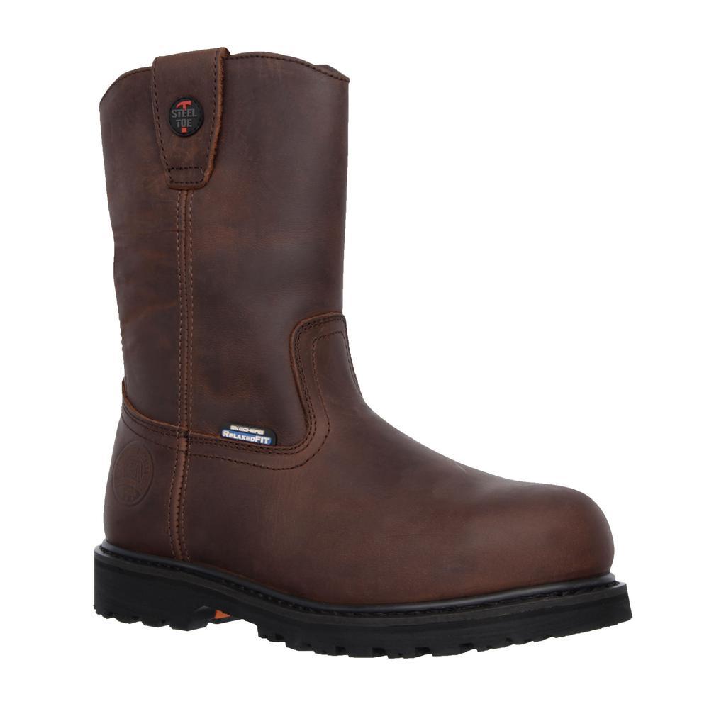 skechers men's work boots