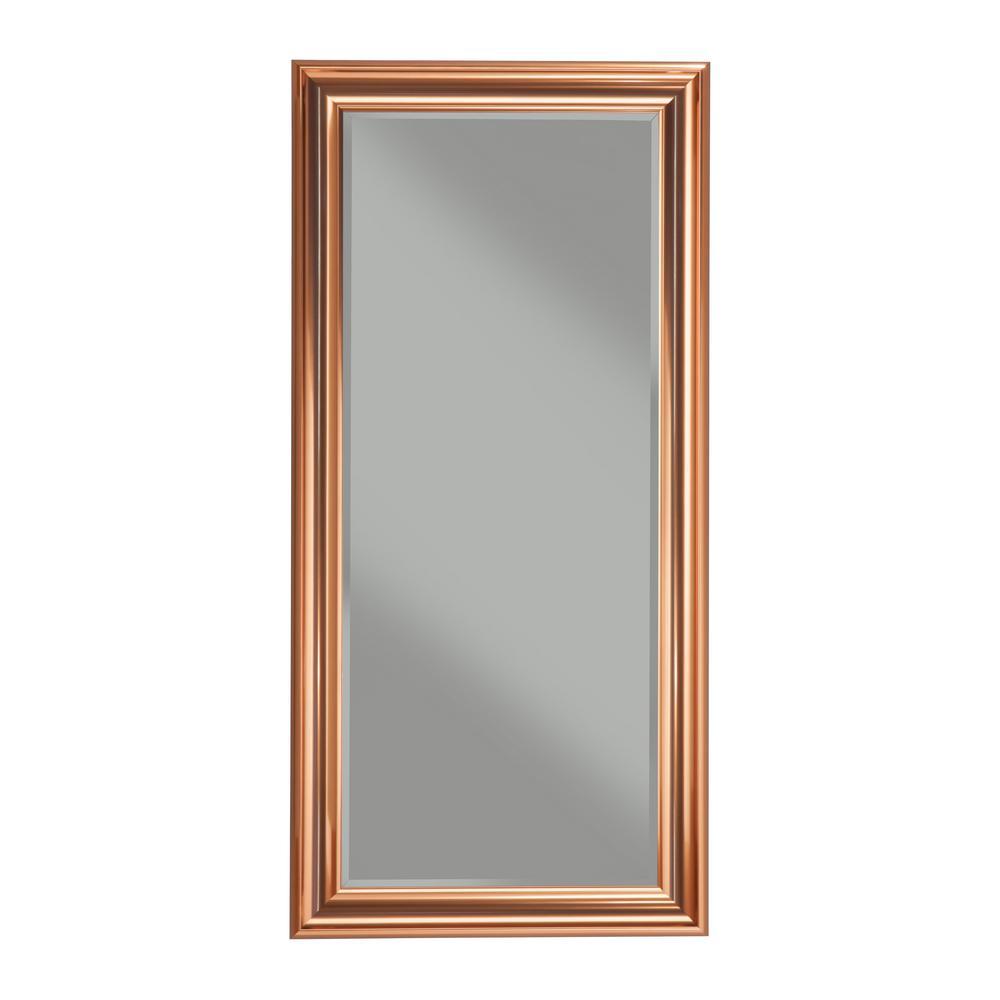 Copper Full Length Leaner Mirror