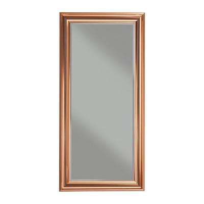 Copper Full Length Leaner Mirror
