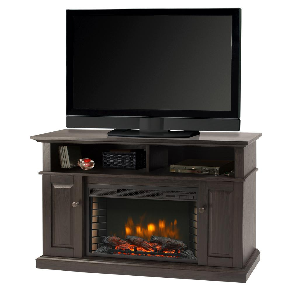 Muskoka Delaney 48 In Freestanding Electric Fireplace Tv