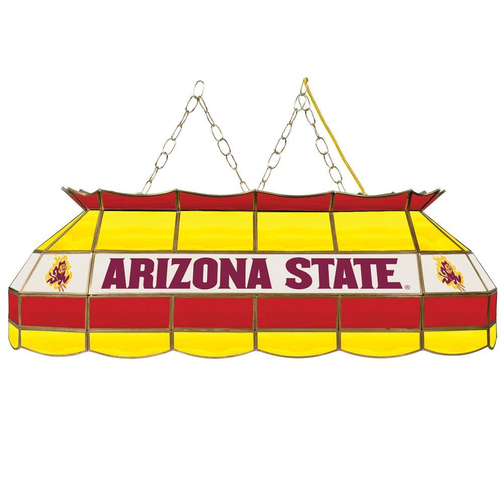 Trademark Arizona State University 40 In. 3-Light Stained