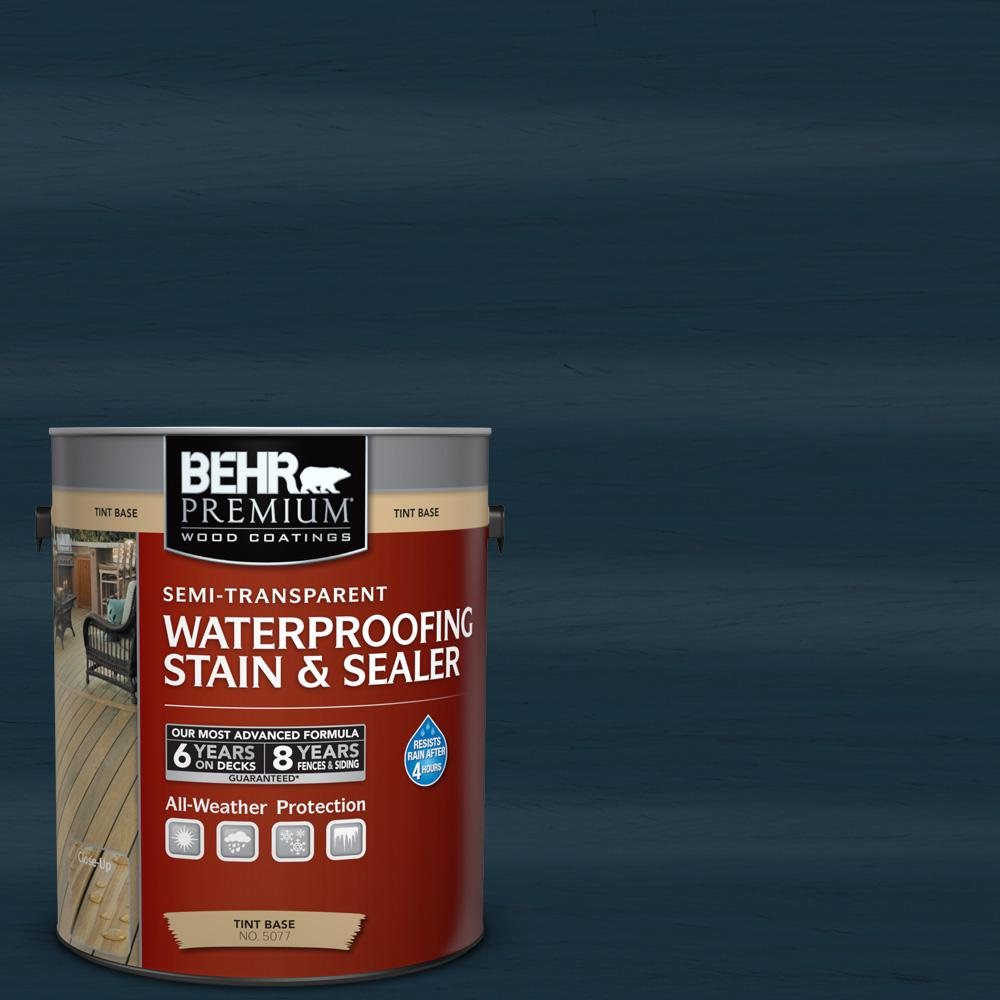 St 101 Atlantic Semi Transpa Waterproofing Exterior Wood Stain And Sealer
