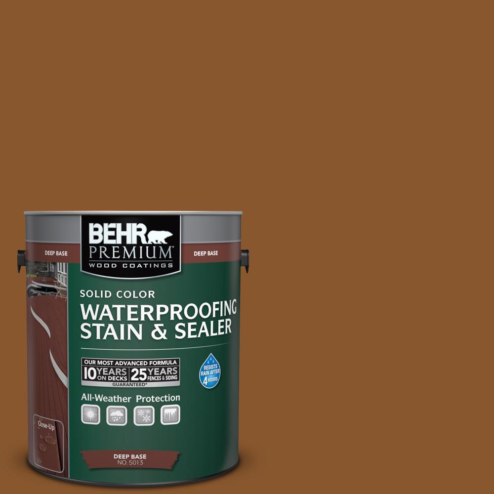 behr premium 1 gal sc 115 antique brass solid color waterproofing