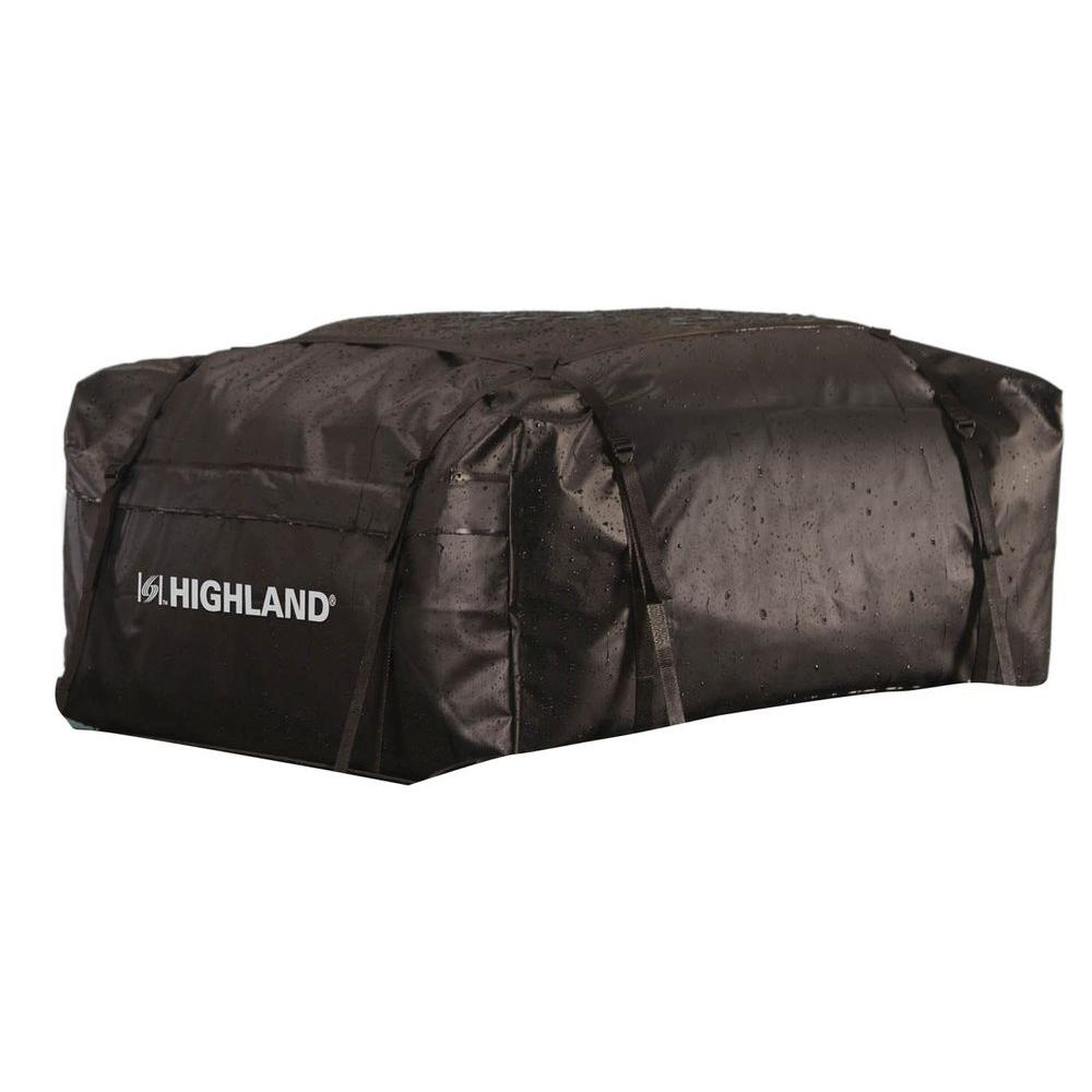 Highland 15 cu. ft. Rain Proof Rooftop Cargo Bag with Storage Sack
