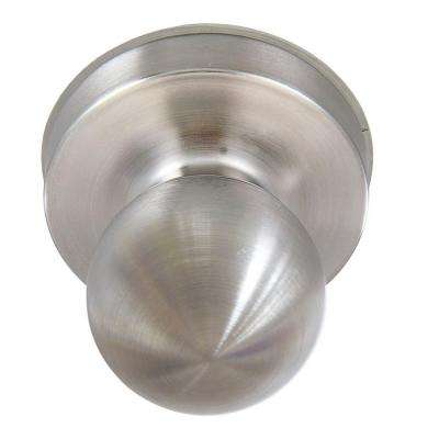 Satin Chrome Ball Passage Exit Device Trim Knob
