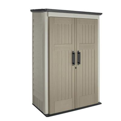 Big Max 2 ft. 6 in. x 4 ft. 3 in. Large Vertical Resin Storage Shed