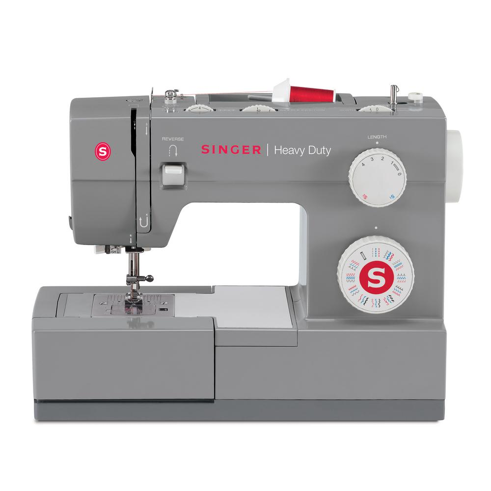 SINGER SEWING CO. 32-Stitch Sewing Machine, Grey