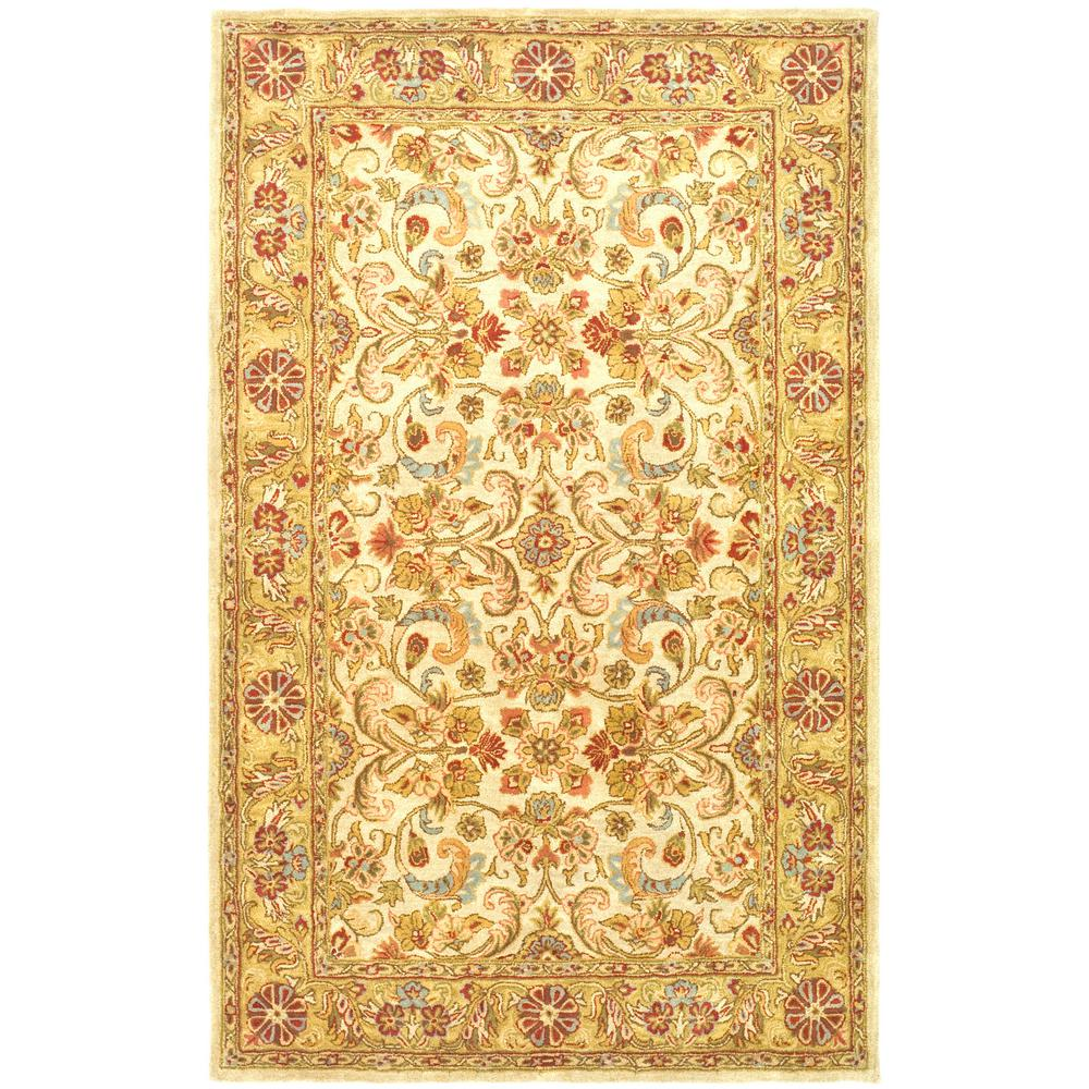 Classic Gray/Light Gold 4 ft. x 6 ft. Area Rug
