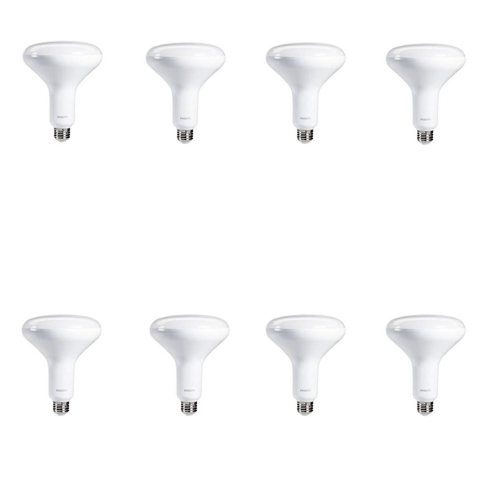 65-Watt Equivalence BR30 and BR40 Daylight LED Light Bulb Daylight Multi