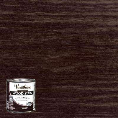 8 oz. Ebony Premium Fast Dry Interior Wood Stain