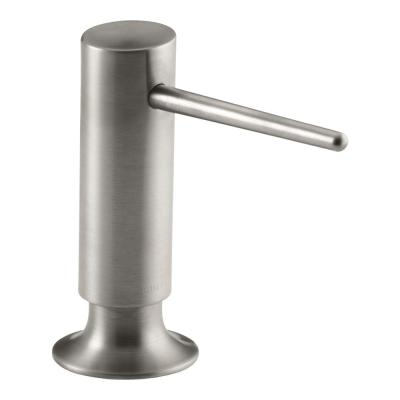 Contemporary Design Soap/Lotion Dispenser in Vibrant Stainless Steel