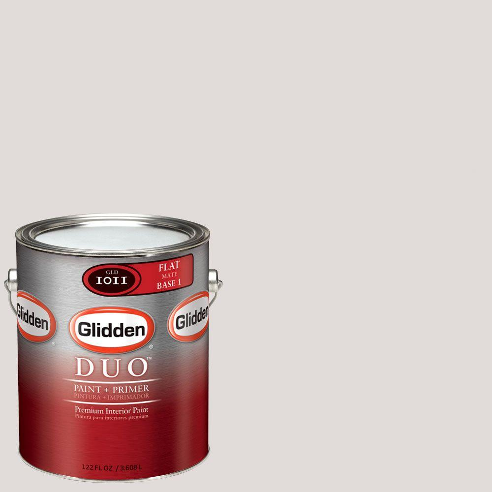 Glidden DUO Martha Stewart Living 1-gal. #MSL004-01F Pebble Flat Interior Paint with Primer-DISCONTINUED