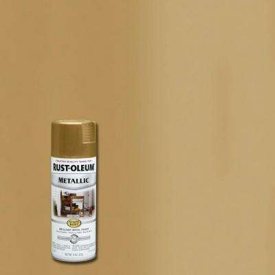 11 oz. Metallic Burnished Brass Protective Spray Paint (6-Pack)